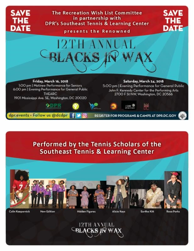 12th Annual Blacks in Wax image