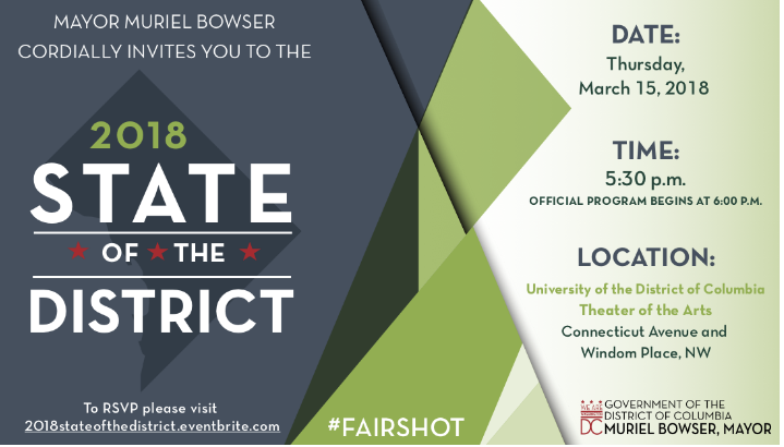 2018 State of the District flier