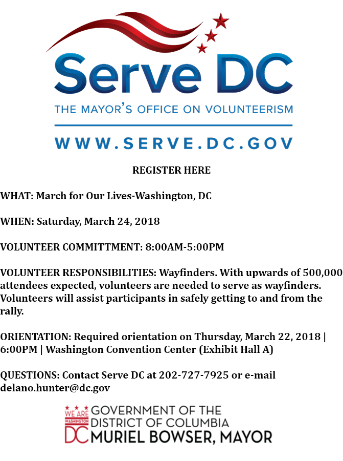 ServeDC Volunteer Orientation