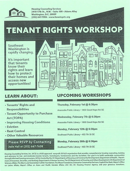 Tenant Rights Workshops